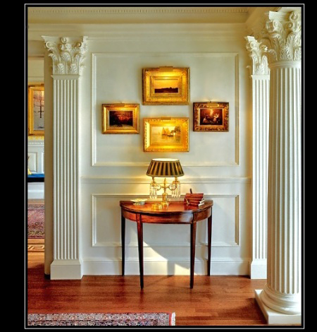Fluted architectural columns beautiful authentic column for Interior columns design ideas