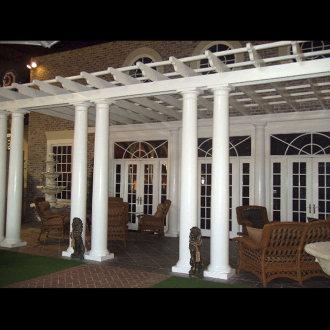 Custom Pergola Design 1012   Exterior Custom Garden Structures   Chadsworth  Columns: Shop.columns