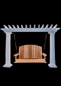 Pergola Swing Sets by Chadsworth Columns: shop.columns.com