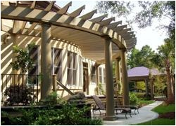 curved arbor plans