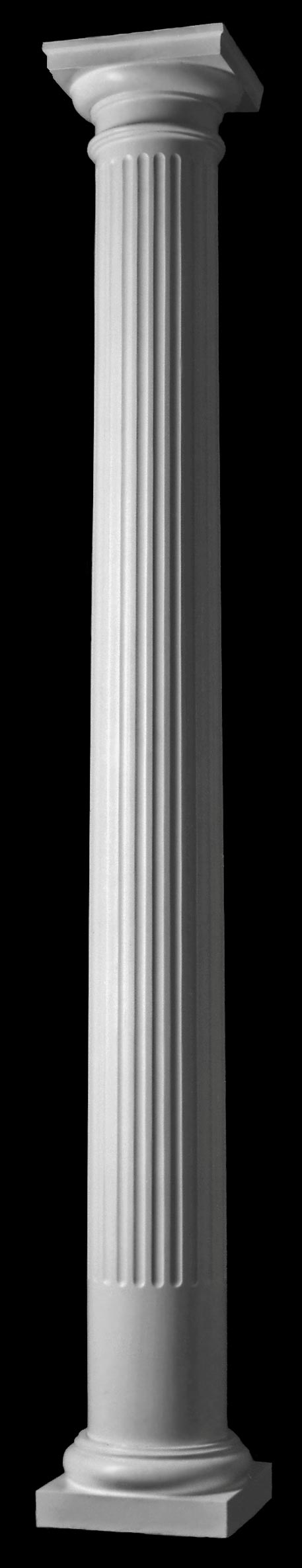 Polystone Tuscan Fluted Round Column