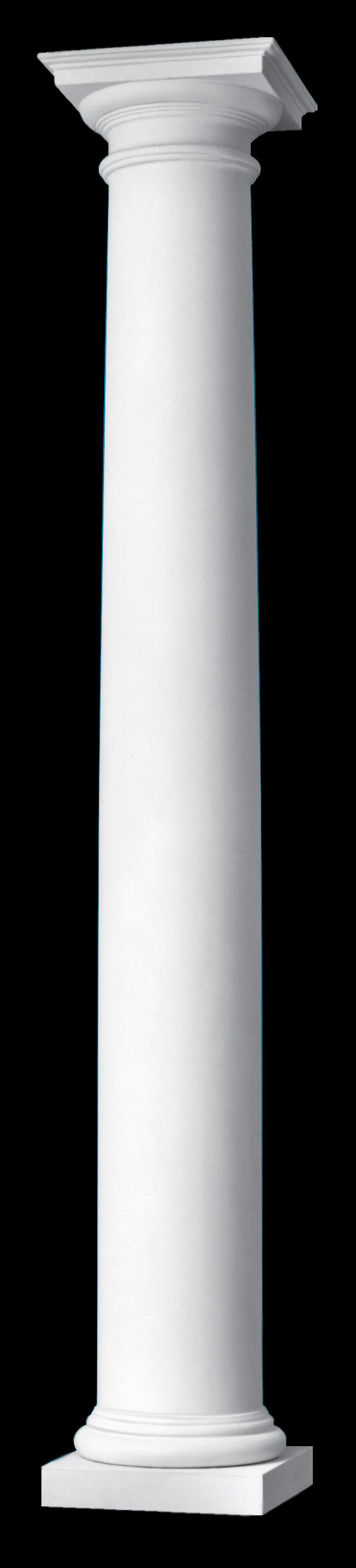 Roman doric columns polystone columns with roman doric base for Doric columns