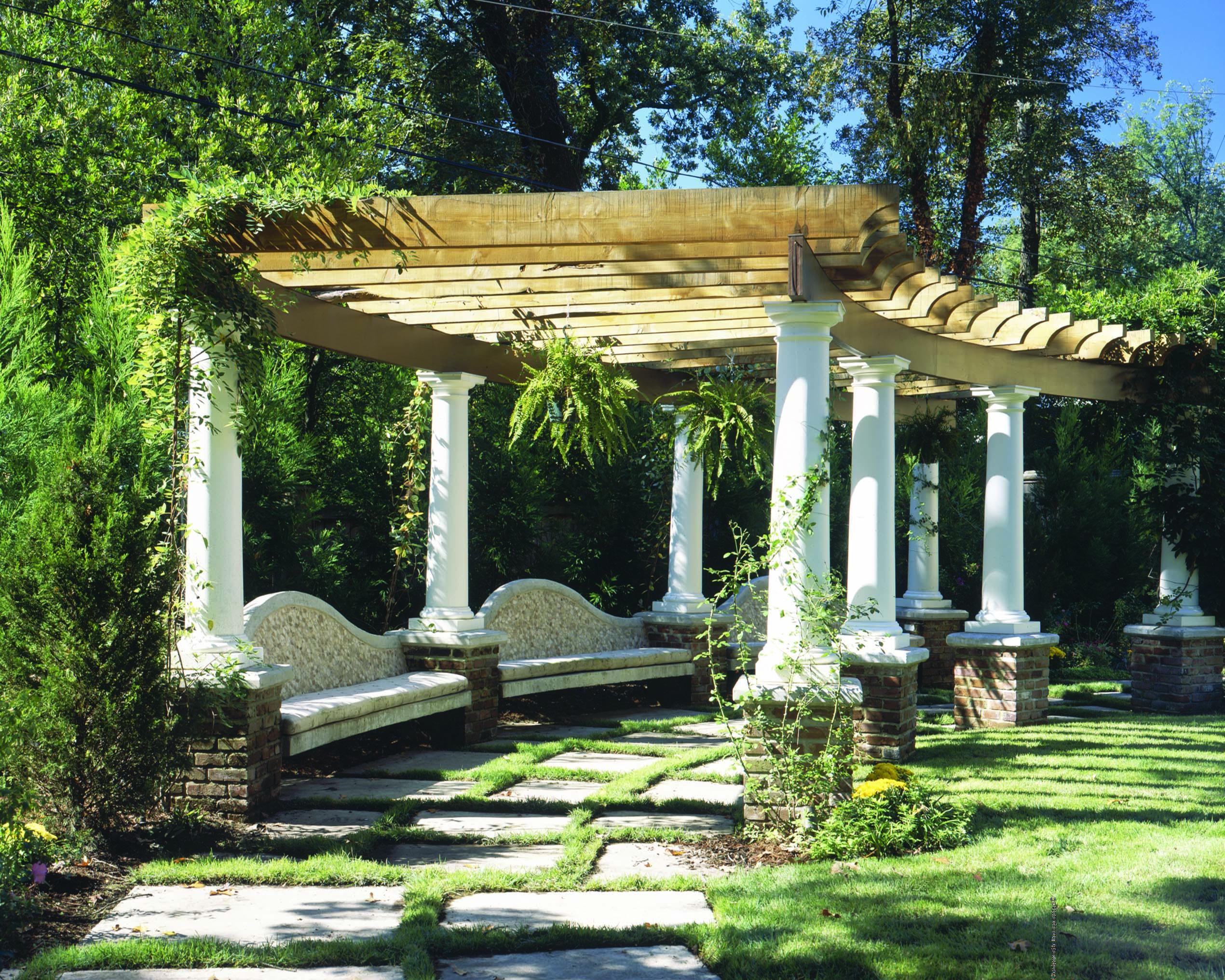 Pergola custom pergola design 3024 chadsworth columns for Pergola designs
