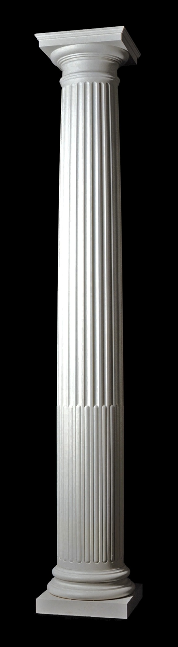 Architectural Column Base : Chadsworth s columns fluted cabled roman doric