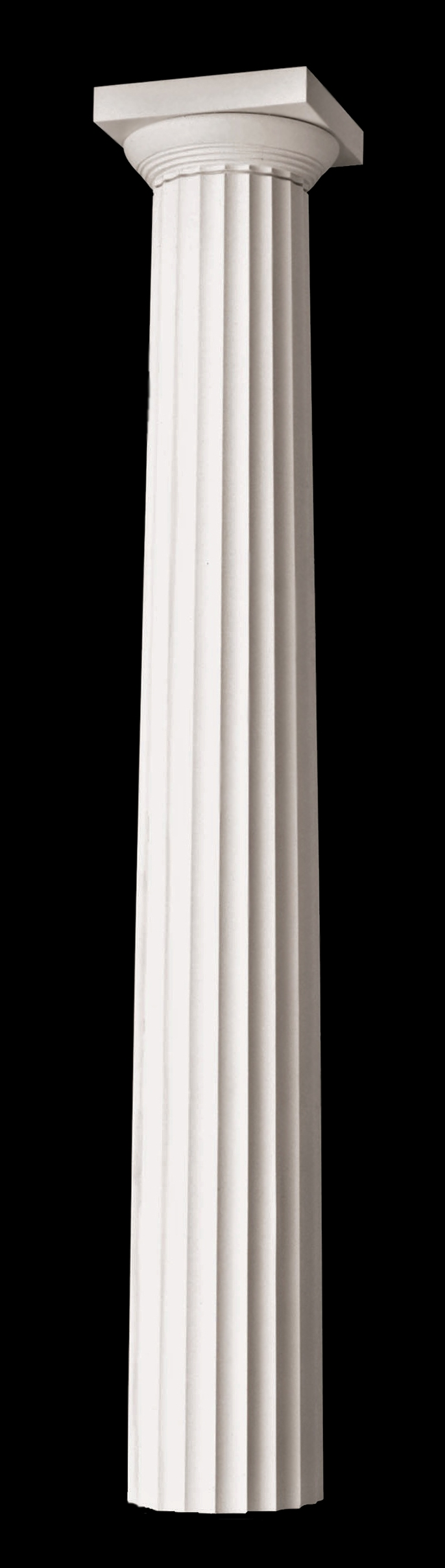 Pin doric columns on pinterest for Architectural wood columns