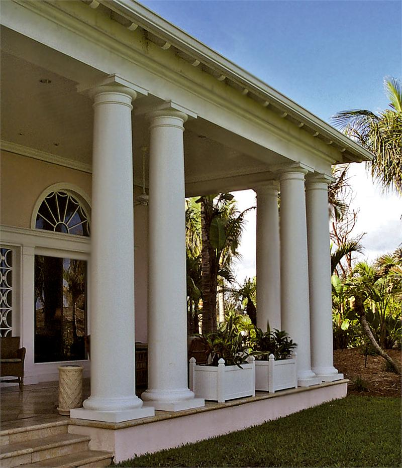 Tuscan Wood Columns Architectural Chadsworth Columns
