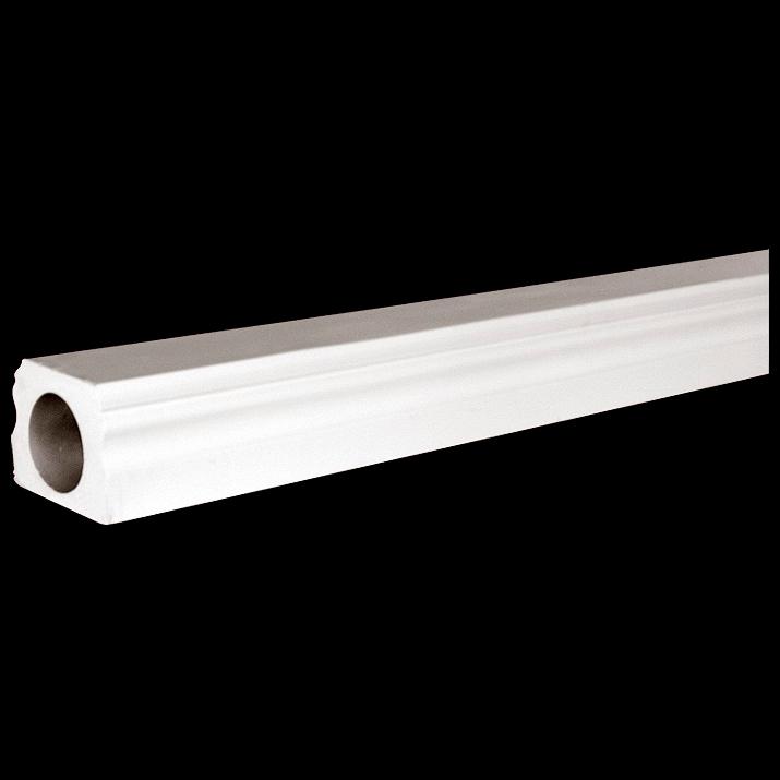 120 length polyurethane bottom rail series 4 for Polyurethane columns