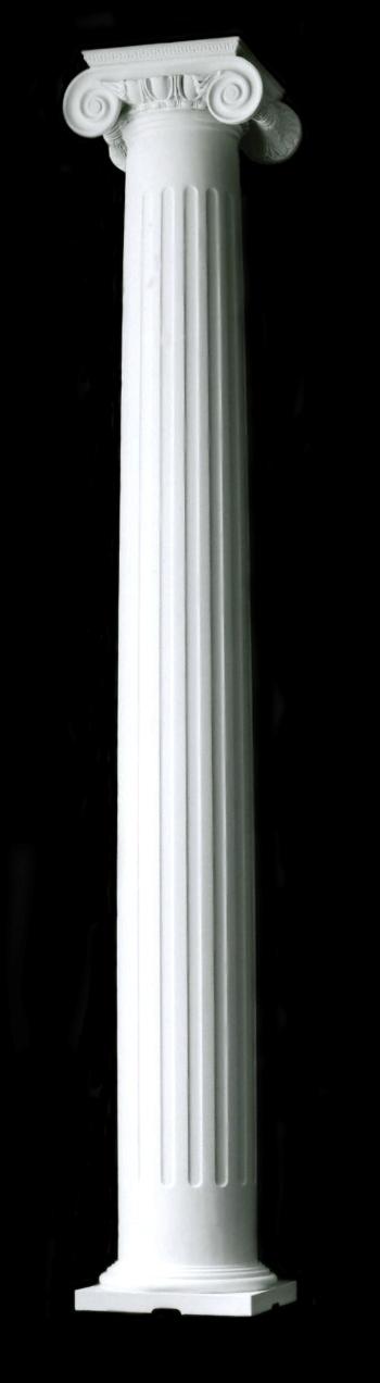 Columns Roman Ionic Columns Builder Grade Wood Columns