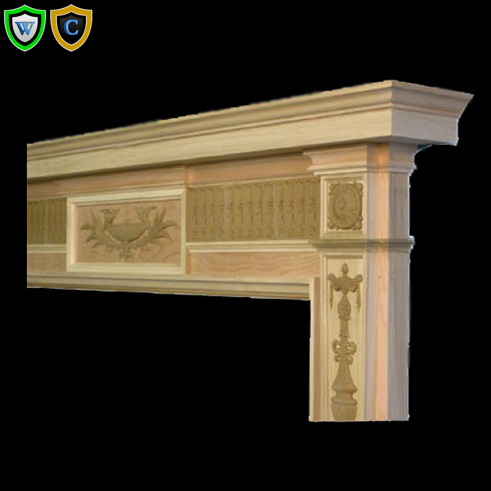 fireplace mantels tapered legs wood mantel chadsworth columns