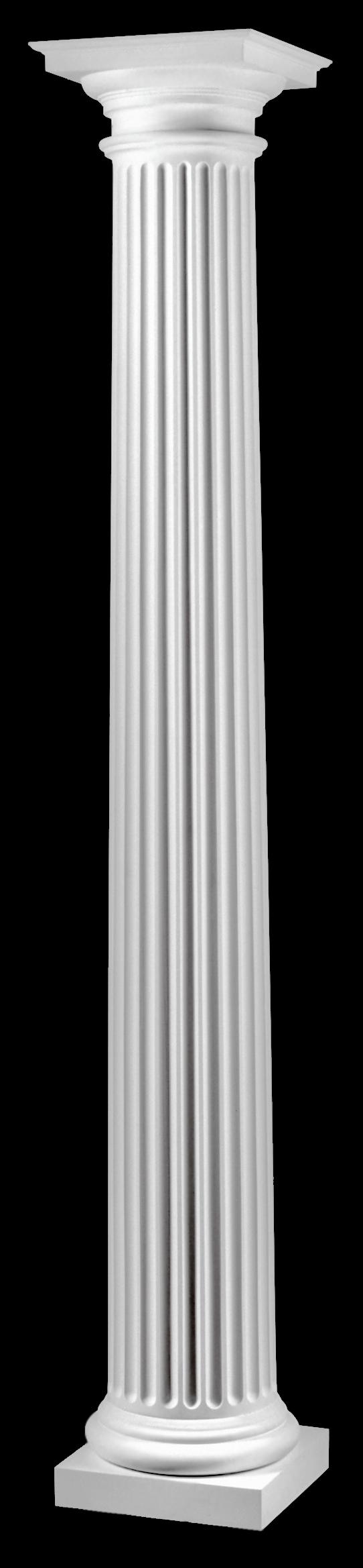 Fluted columns roman doric columns chadsworth 39 s for Doric columns