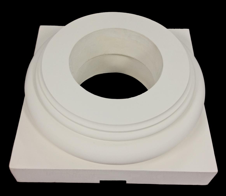 doric order roman polyurethane base molding plinth chadsworth columns. Black Bedroom Furniture Sets. Home Design Ideas