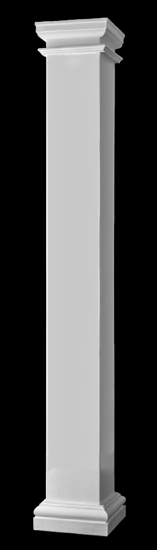 Fiberglass columns large square fiberglass composite for Interior square columns