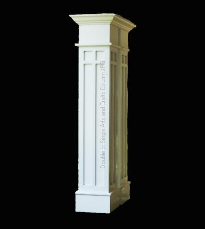 Object moved for Craftsman columns