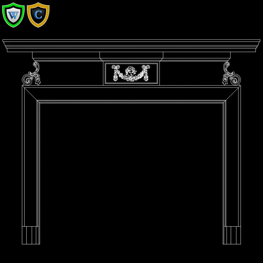 georgian custom wood fireplace mantel design chadsworth columns