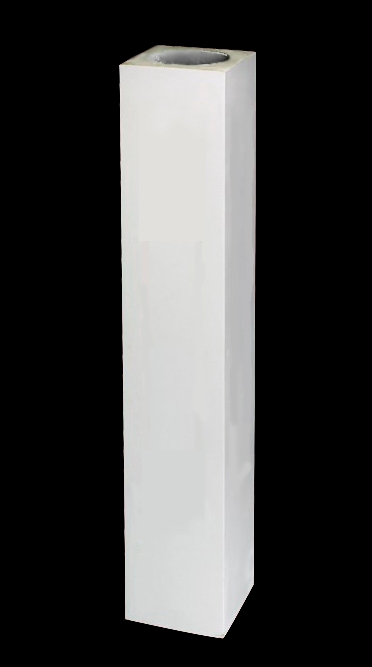 40 height newel post polyurethane plain post for Polyurethane columns