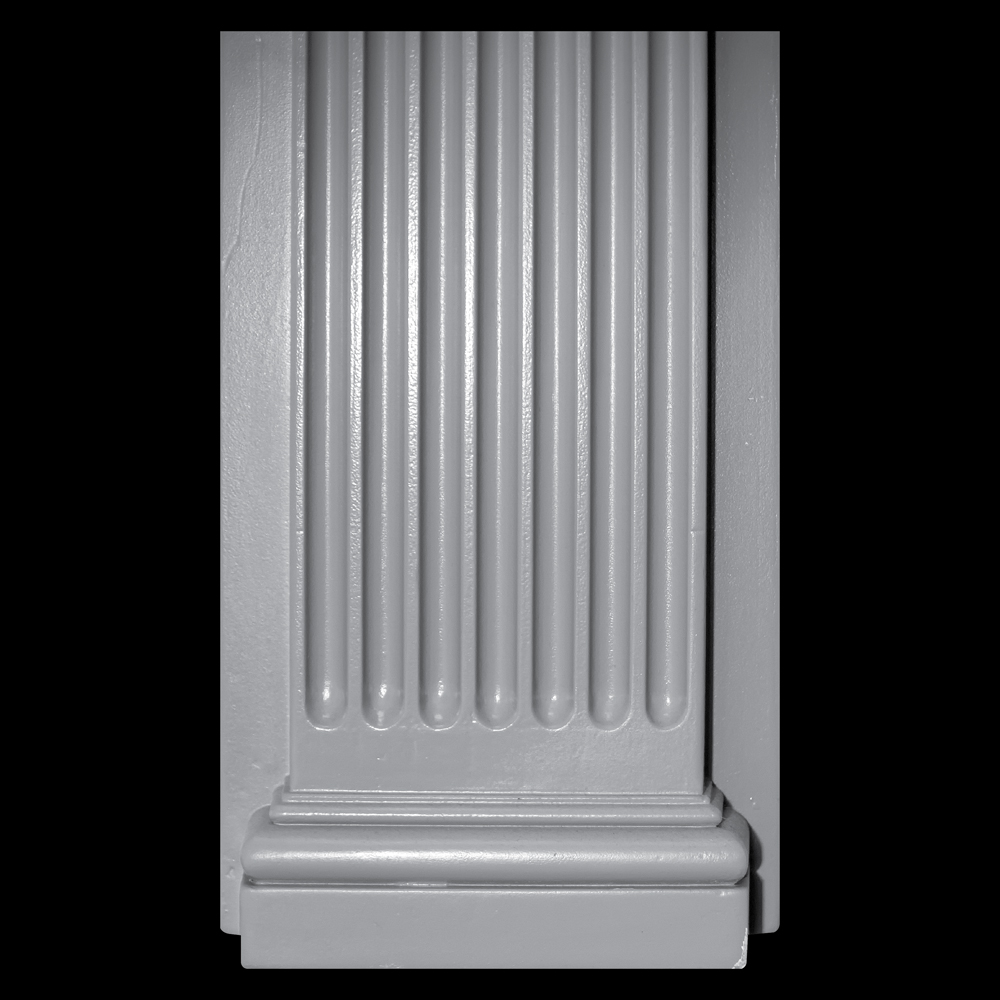 Entryway pilasters urethane material paint grade for Polyurethane columns