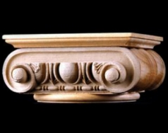 Roman Rome - Interior Wood Capital - 1.800.265.8667