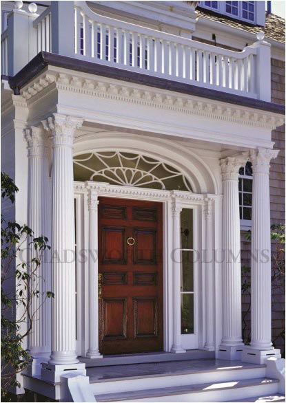Chadsworth columns 39 projects exterior this old house for Columns for house exterior