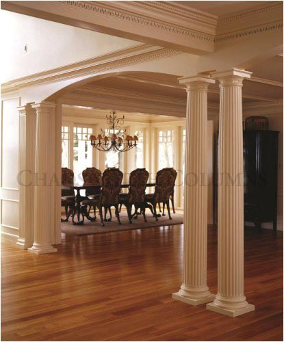 Interior Decorative Roman Doric Wood Columns This Old