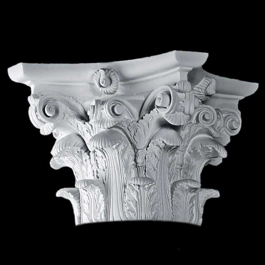 Roman Corinthian Decorative Capitals Frp Composite Capitals