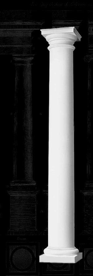 Tuscan Wood Column