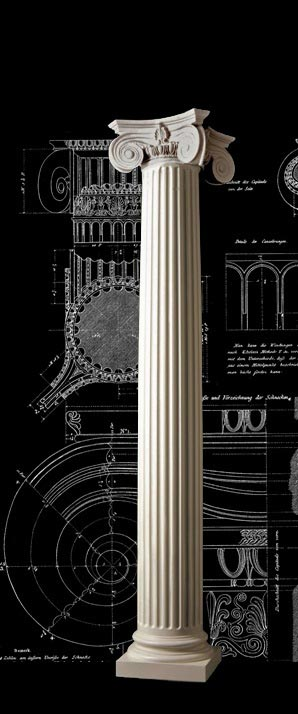 Architectural Empire Wood Column