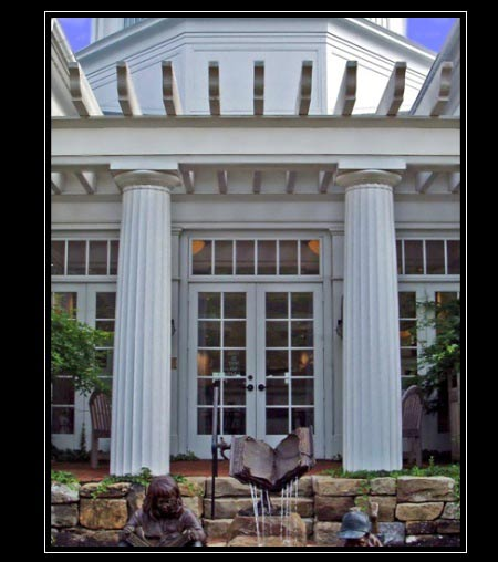 Architectural fiberglass columns by chadsworth columns for Exterior decorative columns