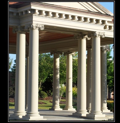 Classic Stone Columns | Exterior Textured and Colored Load Bearing Columns - Chadsworth Columns - 1.800.486.2118