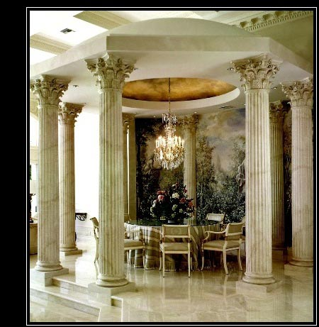 Architectural columns wood columns composite fiberglass for Columns interior