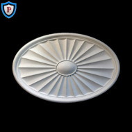 Oval Style Plaster Medallion