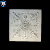 Empire Style Plaster Panel Medallion