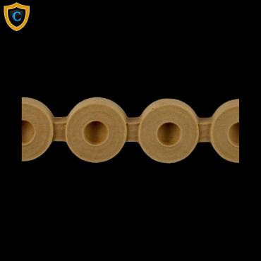 Flemish Bead Decorative Molding Design Compo Material