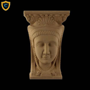 Face Design - Egyptian Face Design - (W): 4""