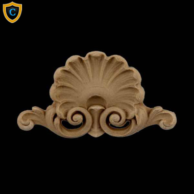 Decorative Shell Accent | SH-F4883-6 | Chadsworth's 1-800-COLUMNS