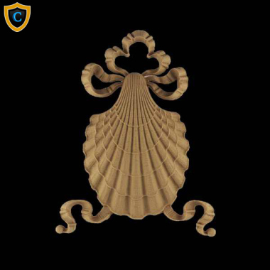 Decorative Shell Accent | SH-9675-6 | Chadsworth's 1-800-COLUMNS