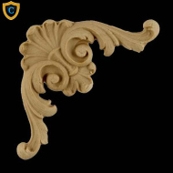 Shell Scroll Spandrel Design