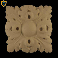 Decorative Accents: Square, French Rosettes, Decorative Rosettes