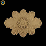 Oval Rosette Design, Architectural Wall Rosettes