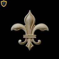 Beautiful Wall Accents, Gothic Fleur di Lis Home Accents