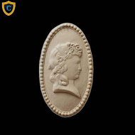 Face Design - Decorative Cameo Design