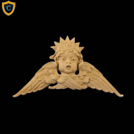 Face Design - Decorative Cherub Design