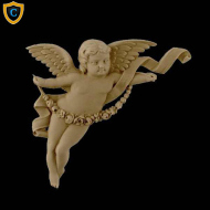 Face Design - Decorative Cherub Design (Facing Right)
