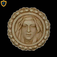 Decorative Face Plaque