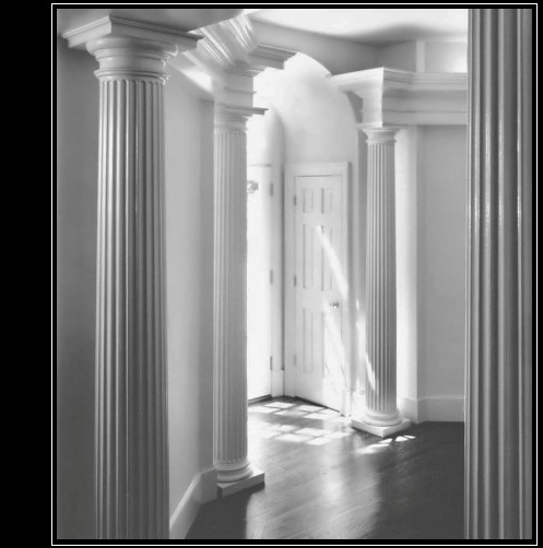 Interior decorative columns elegant house columns for Fiberglass interior columns