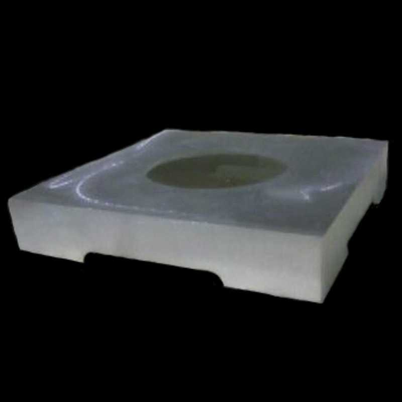 Aluminum Plinths for Bases With Wood Columns, Load-Bearing Plinths