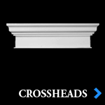 Decorative Entryway Crossheads - Architectural Exterior and Interior Crosshead Moldings - Chadsworth Columns - Shop.columns.com - 1-800-486-2118