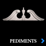 Decorative Polyurethane Entryway Pediments - Beautiful Exterior and Interior Home Products by Shop.columns.com - Chadsworth Columns - 1-800-486-2118
