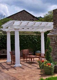Fiberglass Round and Square Columns Pergola Sets - Chadsworth Columns: shop.columns.com