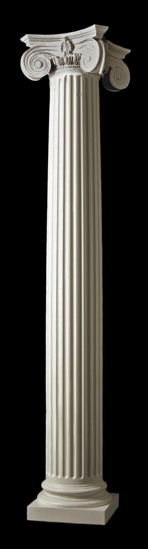 Columns Fluted Empire Polystone 174 Columns Exterior